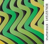 3d gradient line design...   Shutterstock .eps vector #1451557838