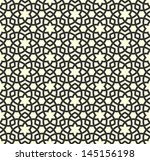 arabic seamless ornament....   Shutterstock .eps vector #145156198