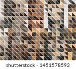 abstract pattern of geometric... | Shutterstock .eps vector #1451578592
