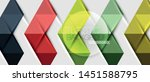 abstract geometric background.... | Shutterstock .eps vector #1451588795