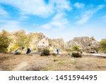 cappadocia  nevsehir  turkey ... | Shutterstock . vector #1451594495