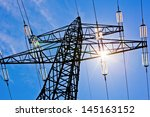 A High Voltage Power Pylons...