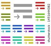 justify text multi color icon....