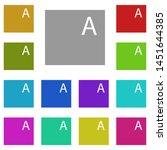 files  text multi color icon....