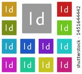 indesign  text multi color icon....