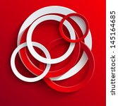 vector circle abstract...   Shutterstock .eps vector #145164685