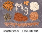 inscription mg and nutritious... | Shutterstock . vector #1451689505