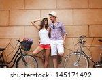 Break Time After Cycling City - Fine Art prints
