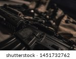 military equipman and weapons...   Shutterstock . vector #1451732762