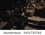 military equipman and weapons...   Shutterstock . vector #1451732765