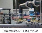 industrial meter   water | Shutterstock . vector #145174462