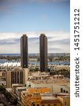 downtown san diego  california  ... | Shutterstock . vector #1451751212