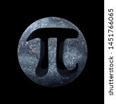 Pi Symbol  Mathematical Carved...