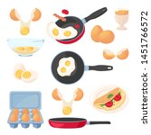 Eggs Design Elements Set ...