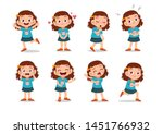 kid child expression vector... | Shutterstock .eps vector #1451766932