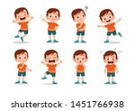 kid child expression vector... | Shutterstock .eps vector #1451766938