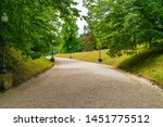 broad avenue in kaiser park ... | Shutterstock . vector #1451775512