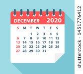 December 2020 Calendar Leaf  ...