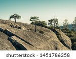 granite rock formations at bald ... | Shutterstock . vector #1451786258