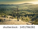 granite rock formations at bald ... | Shutterstock . vector #1451786282