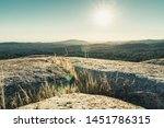 granite rock formations at bald ... | Shutterstock . vector #1451786315