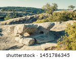 granite rock formations at bald ... | Shutterstock . vector #1451786345