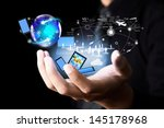 modern wireless technology and... | Shutterstock . vector #145178968
