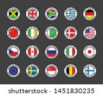 set of icon flags   Shutterstock .eps vector #1451830235