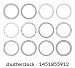 stitches round colored frames.... | Shutterstock .eps vector #1451855912