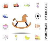 cartoon rocking horse toy...