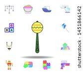 cartoon shaker rattle toy...