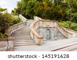 ancient staircase | Shutterstock . vector #145191628