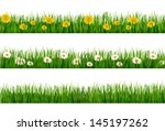 three nature backgrounds of... | Shutterstock . vector #145197262