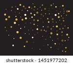 abstract gold circles for... | Shutterstock .eps vector #1451977202