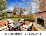 Spring Fenced Luxury  Backyard...