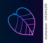leaflet nolan icon. simple thin ...