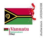 banner or poster of vanuatu...   Shutterstock .eps vector #1452042338