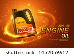car engine oil  automobile... | Shutterstock .eps vector #1452059612