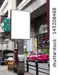 outdoor advertising in the city | Shutterstock . vector #145208488