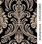 vector damask seamless pattern... | Shutterstock .eps vector #1452101885