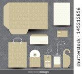 stationery design set in...   Shutterstock .eps vector #145212856