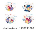 banner shows process formation... | Shutterstock .eps vector #1452211088