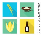 vector illustration of raw and...   Shutterstock .eps vector #1452212285