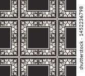 seamless geometric pattern.... | Shutterstock .eps vector #1452236798