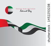 united arab emirates national... | Shutterstock .eps vector #1452253238