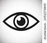 eye vector icon. open eye icon  ...   Shutterstock .eps vector #1452273845