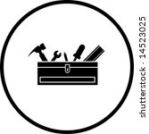 closed toolbox with tools symbol | Shutterstock .eps vector #14523025