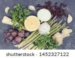 best nutritious food for... | Shutterstock . vector #1452327122
