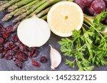 best nutritious food for... | Shutterstock . vector #1452327125