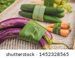 eco friendly product packaging... | Shutterstock . vector #1452328565